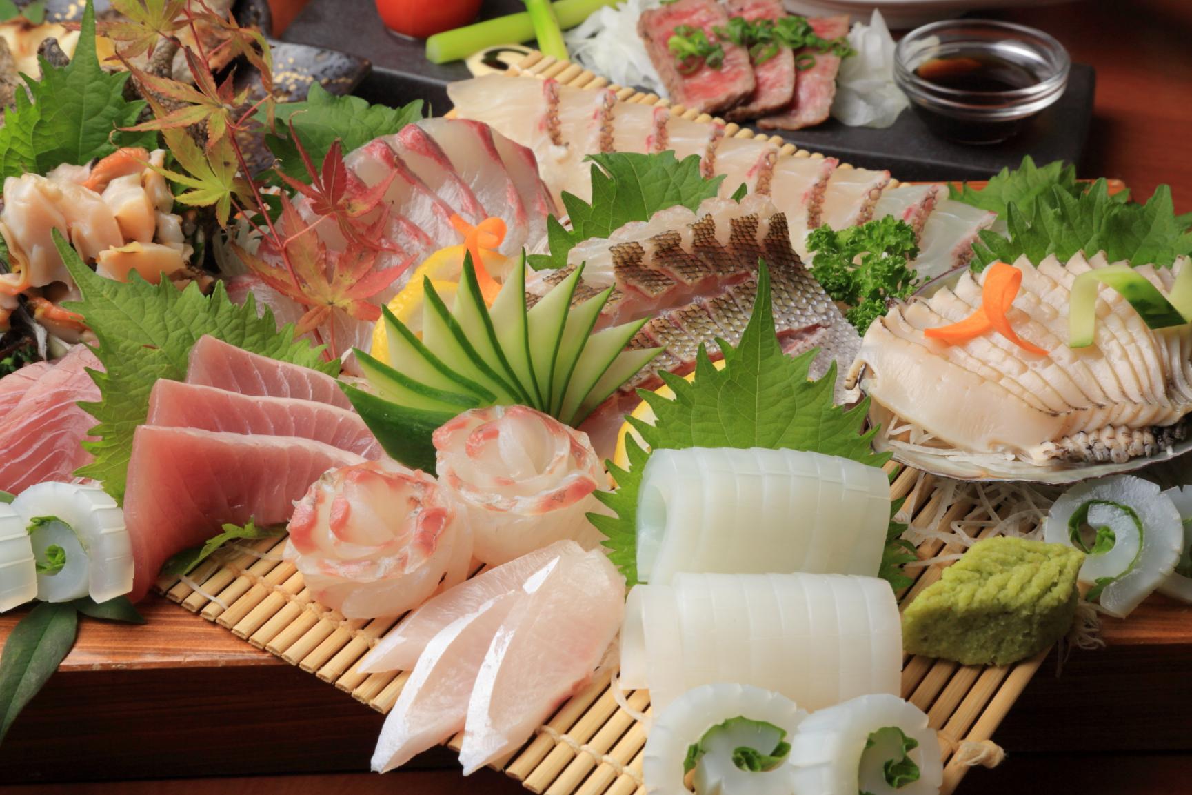 必食!お魚王国で味わう極上の魚介類-0