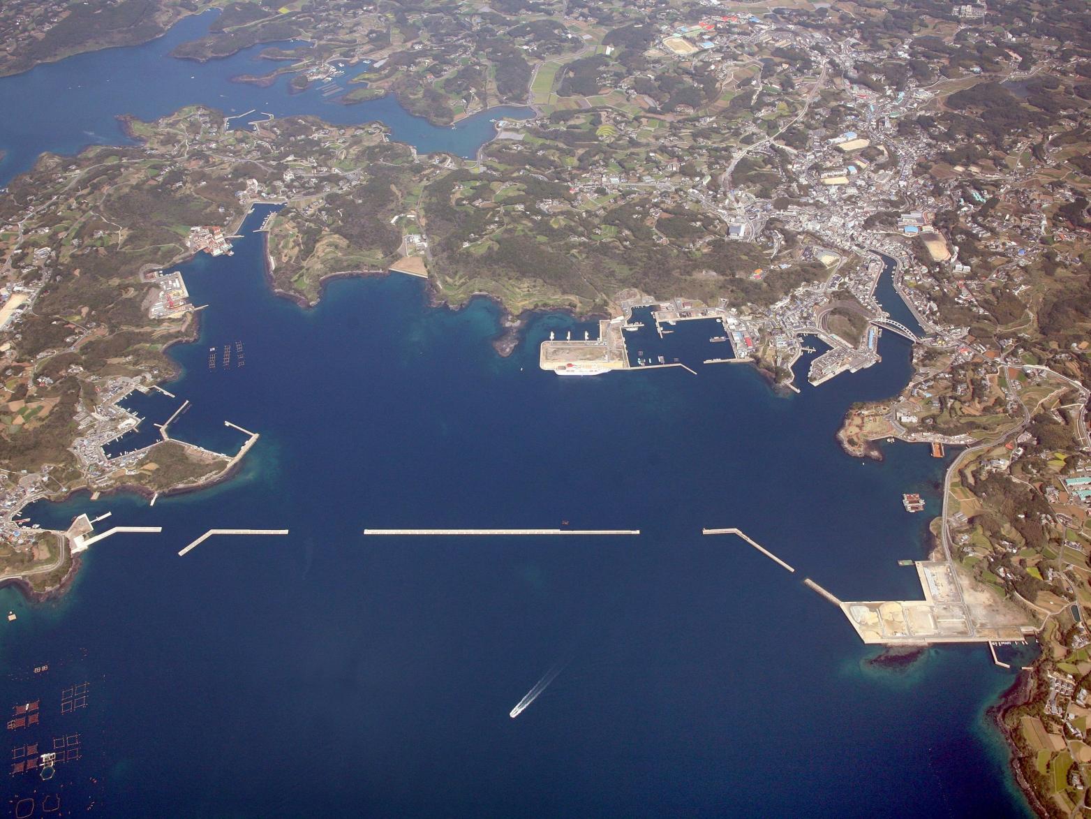郷ノ浦港(壱岐)の概要   Gonoura Port (Iki)-0