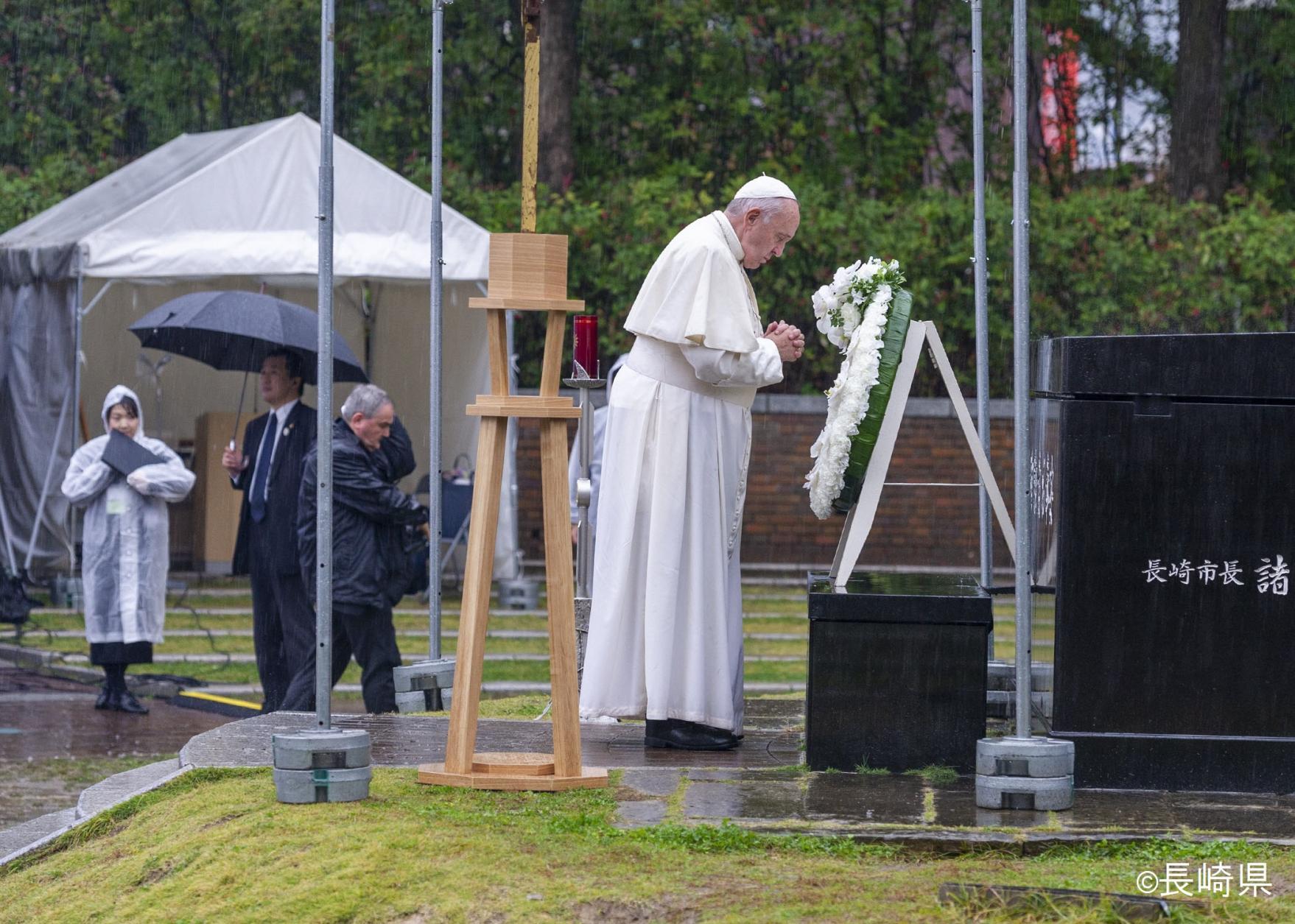 로마 교황이 나가사키에서 방문한 곳을 돌아보는 1일 코스-1