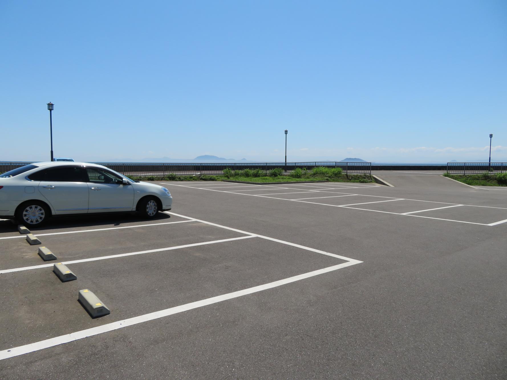 原城来場者駐車場②-1