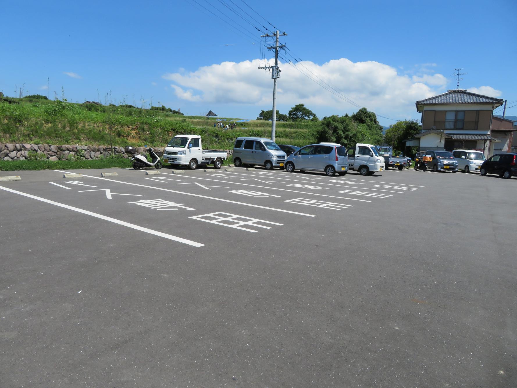 原城跡入口トイレ駐車場-2