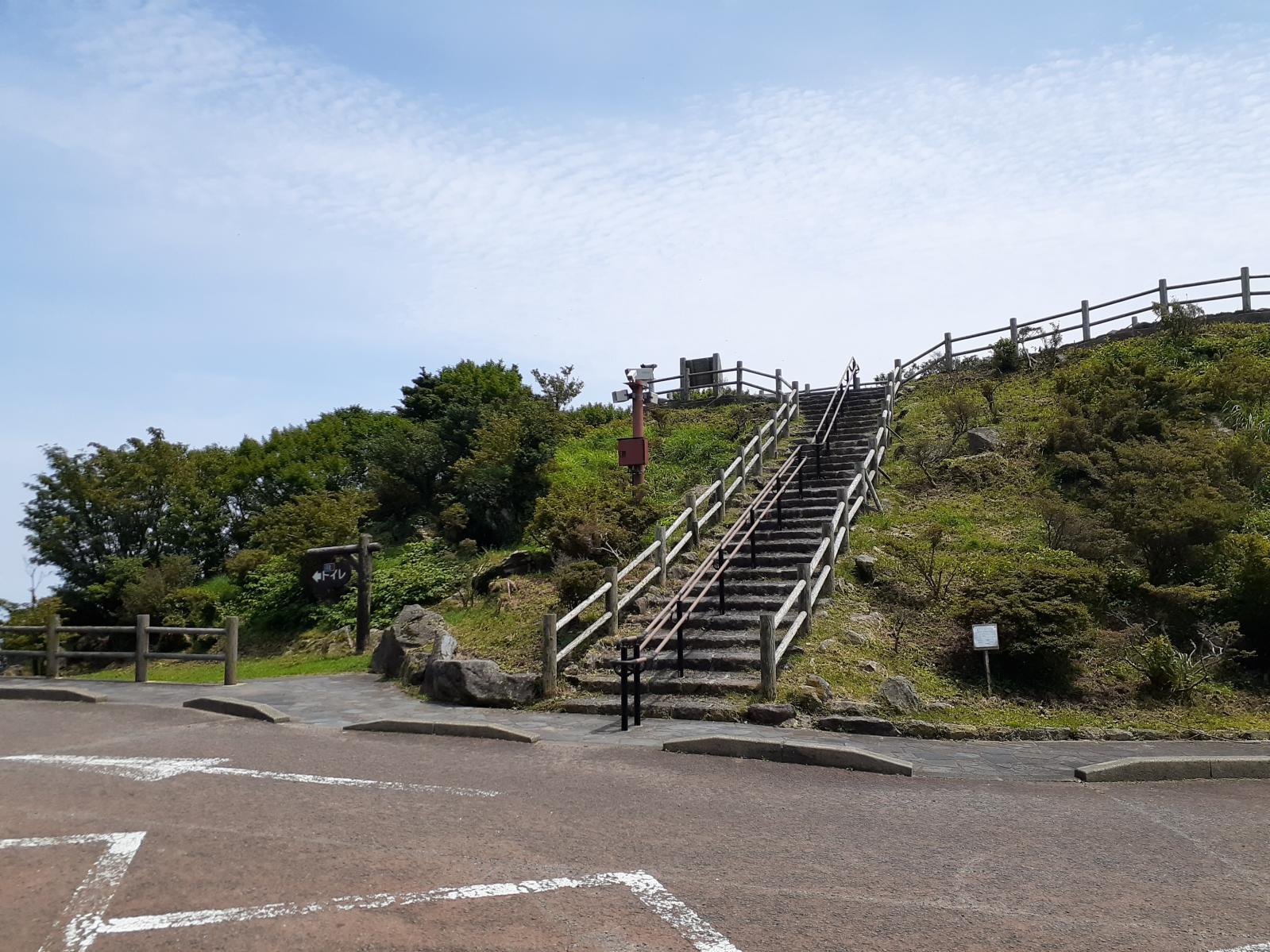 展望所への上り階段-1