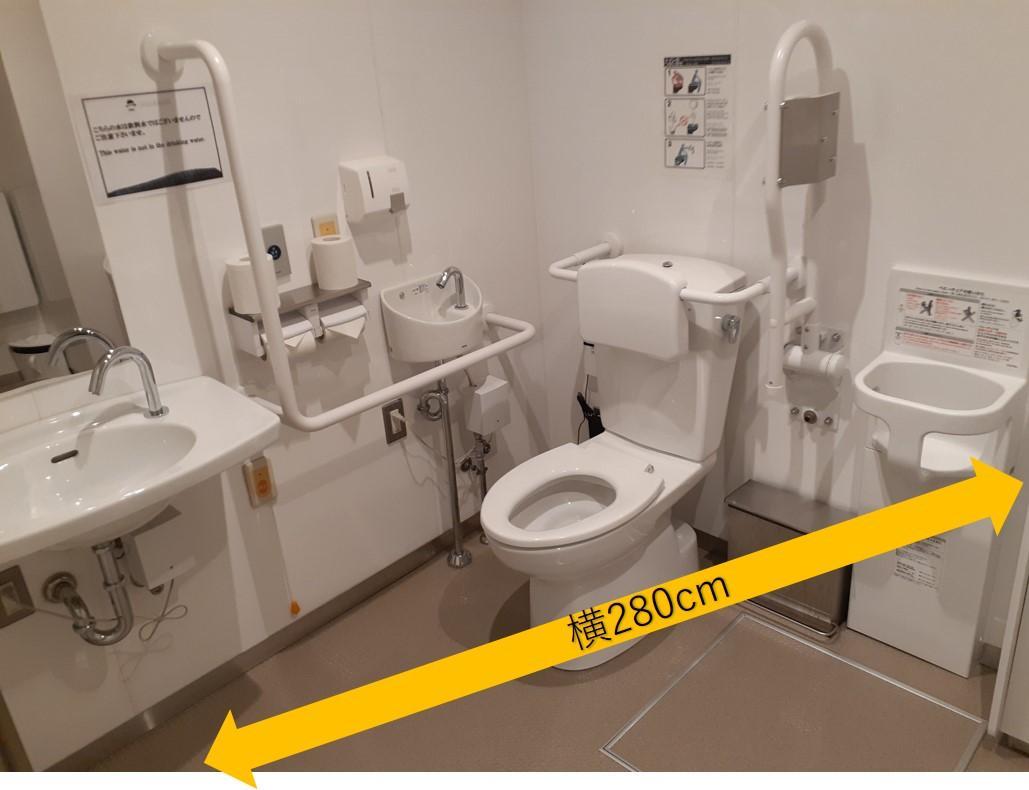 長崎伝統芸能館⑮多目的トイレ内部-6
