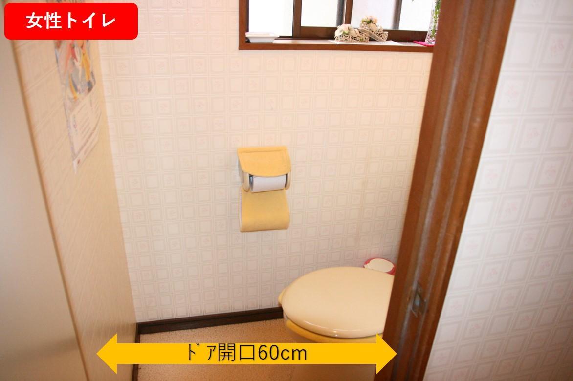一般トイレ個室-1