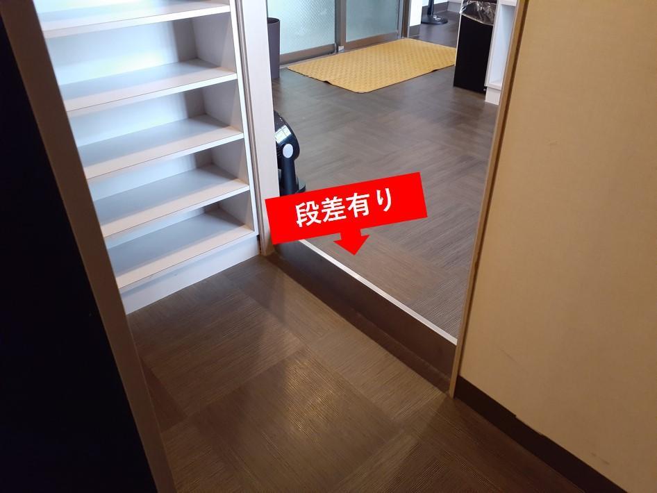 入口の段差-1