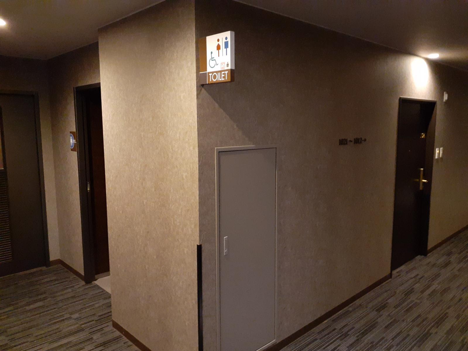 1021号室近くの廊下-0