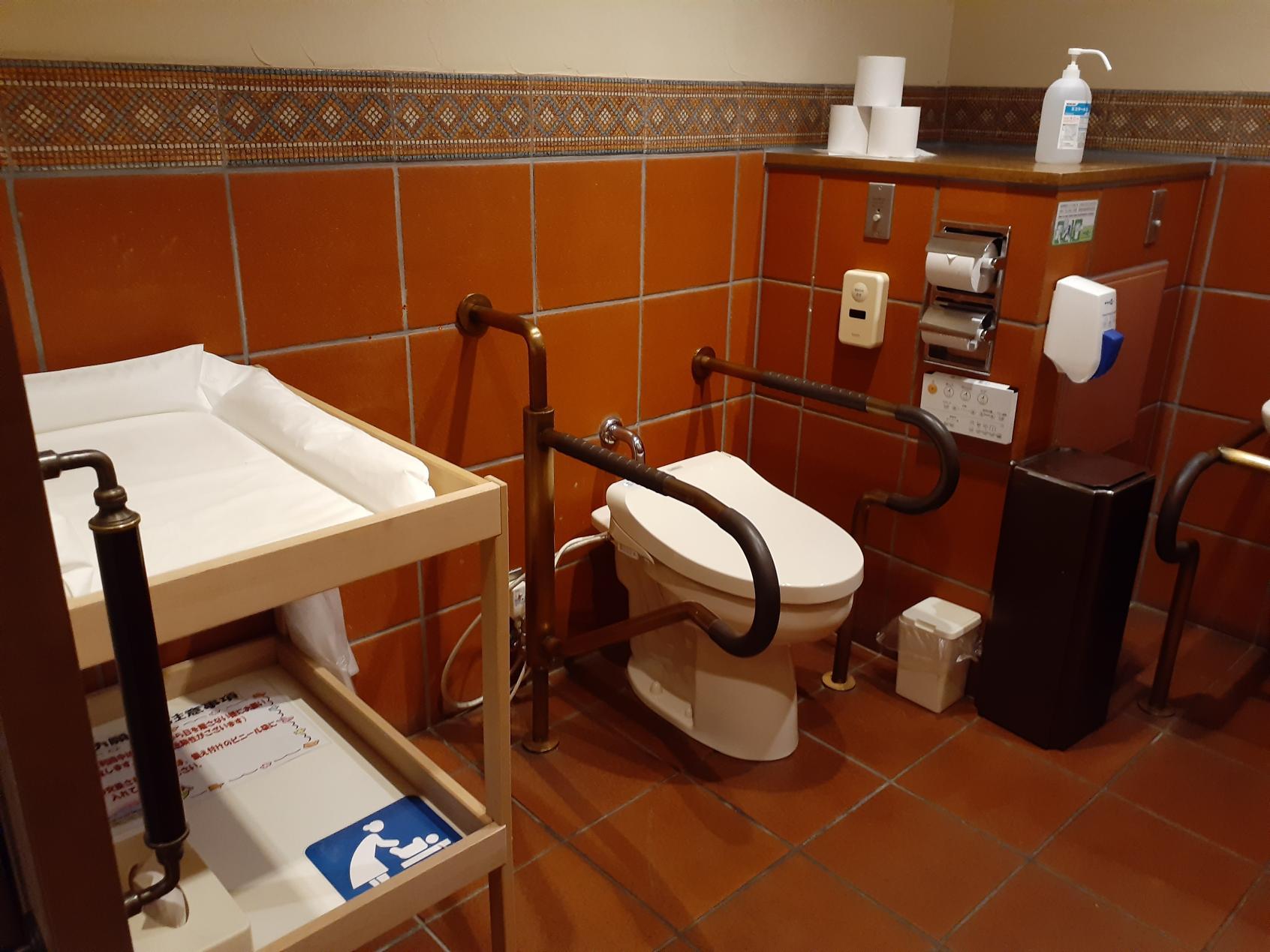 多目的トイレ内部①-1