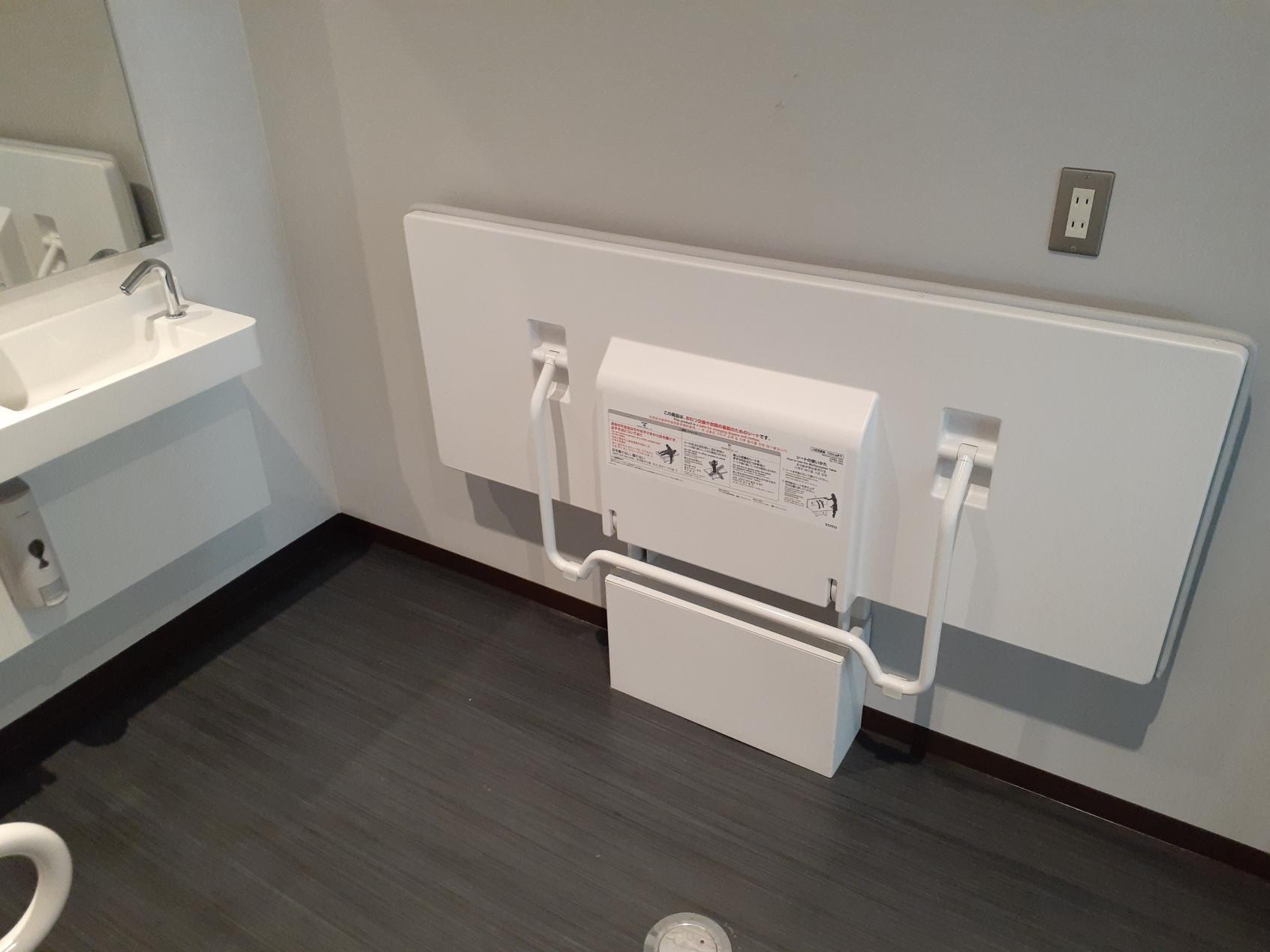 山頂駅 多目的トイレ内部②-6
