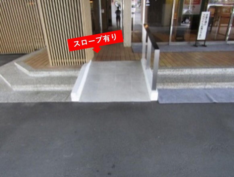 玄関前スロープ-2