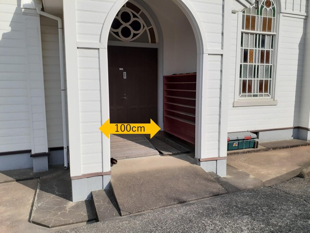 スロープ付きの入口-3