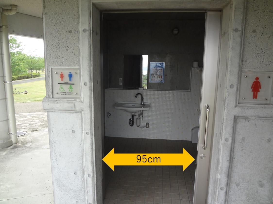 展望台トイレ入口-1