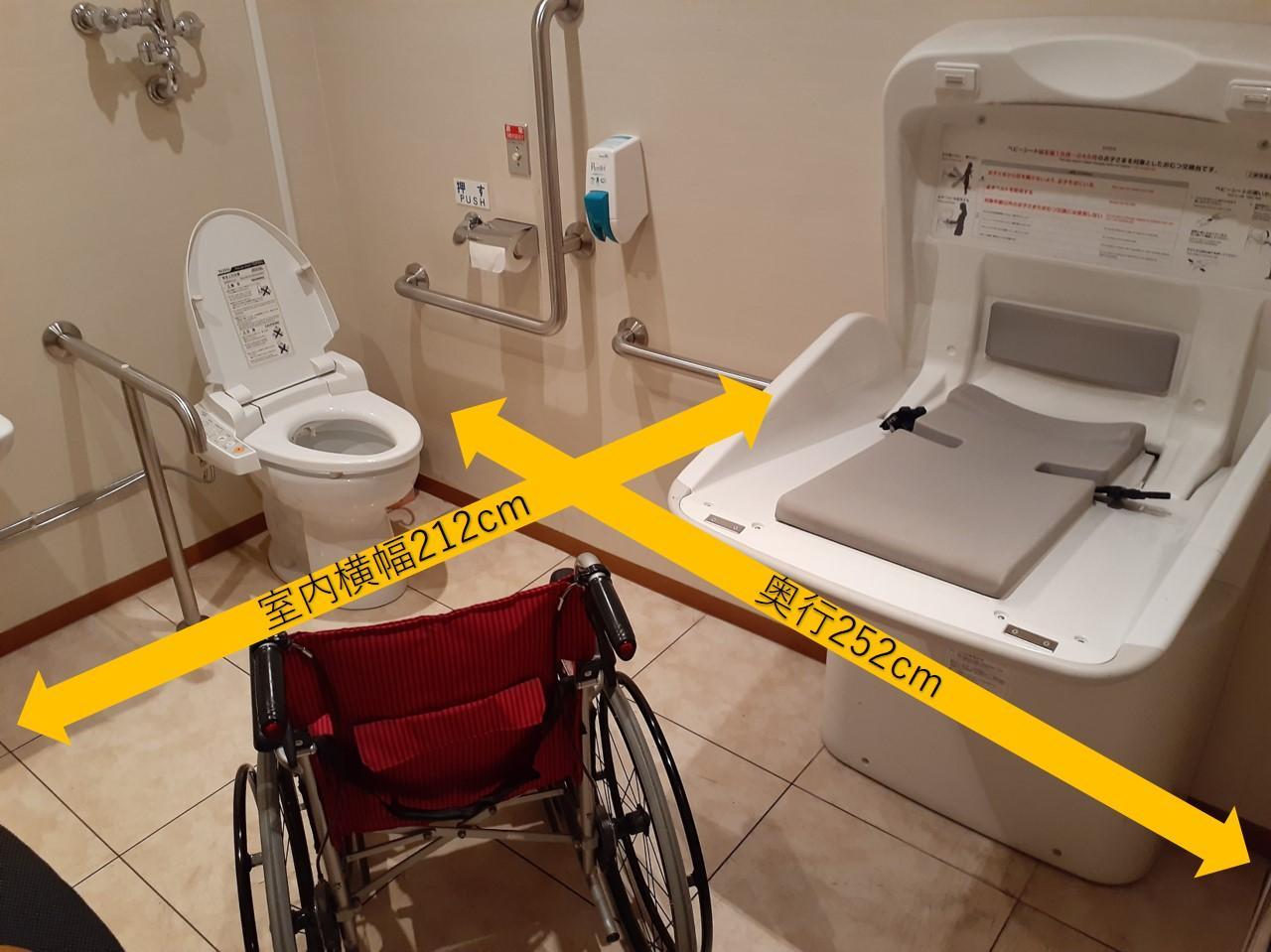多目的トイレ内-1