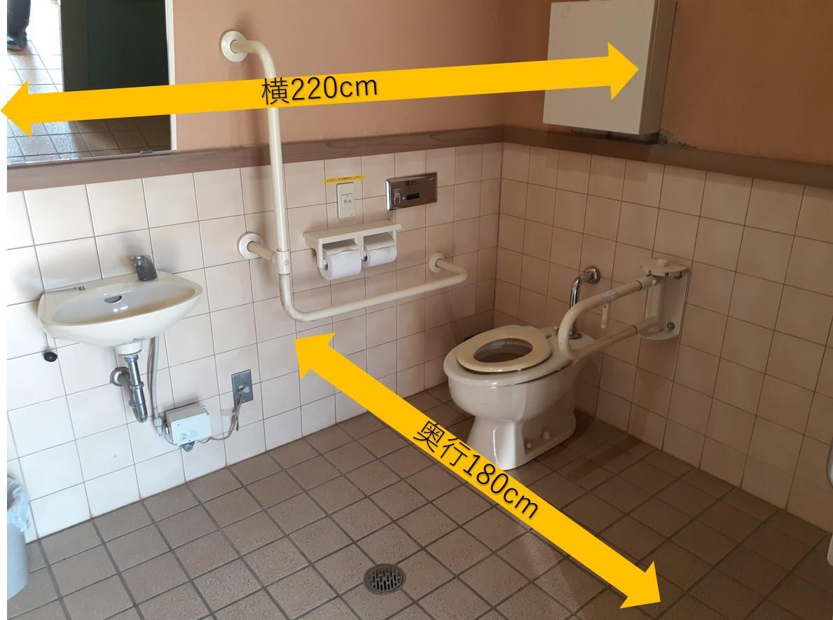 多目的トイレ内部-5