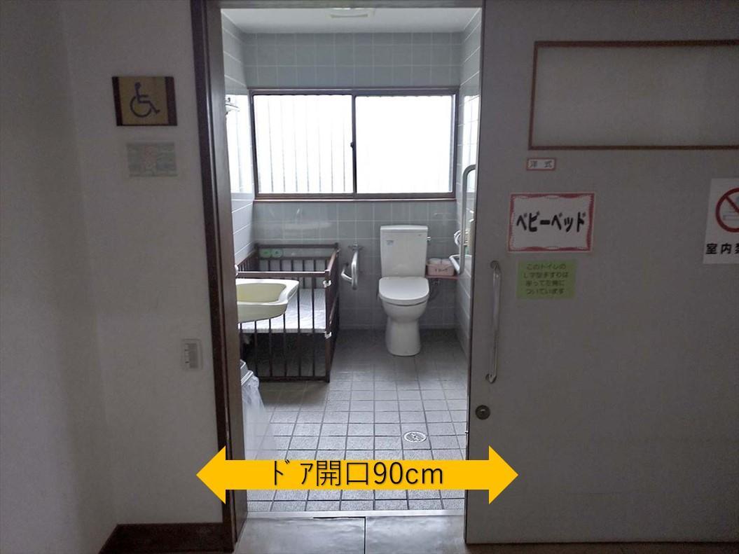 多目的トイレ入口-2