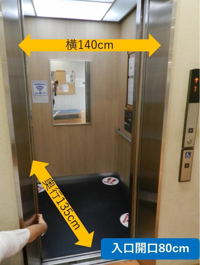 エレベーター内部-3