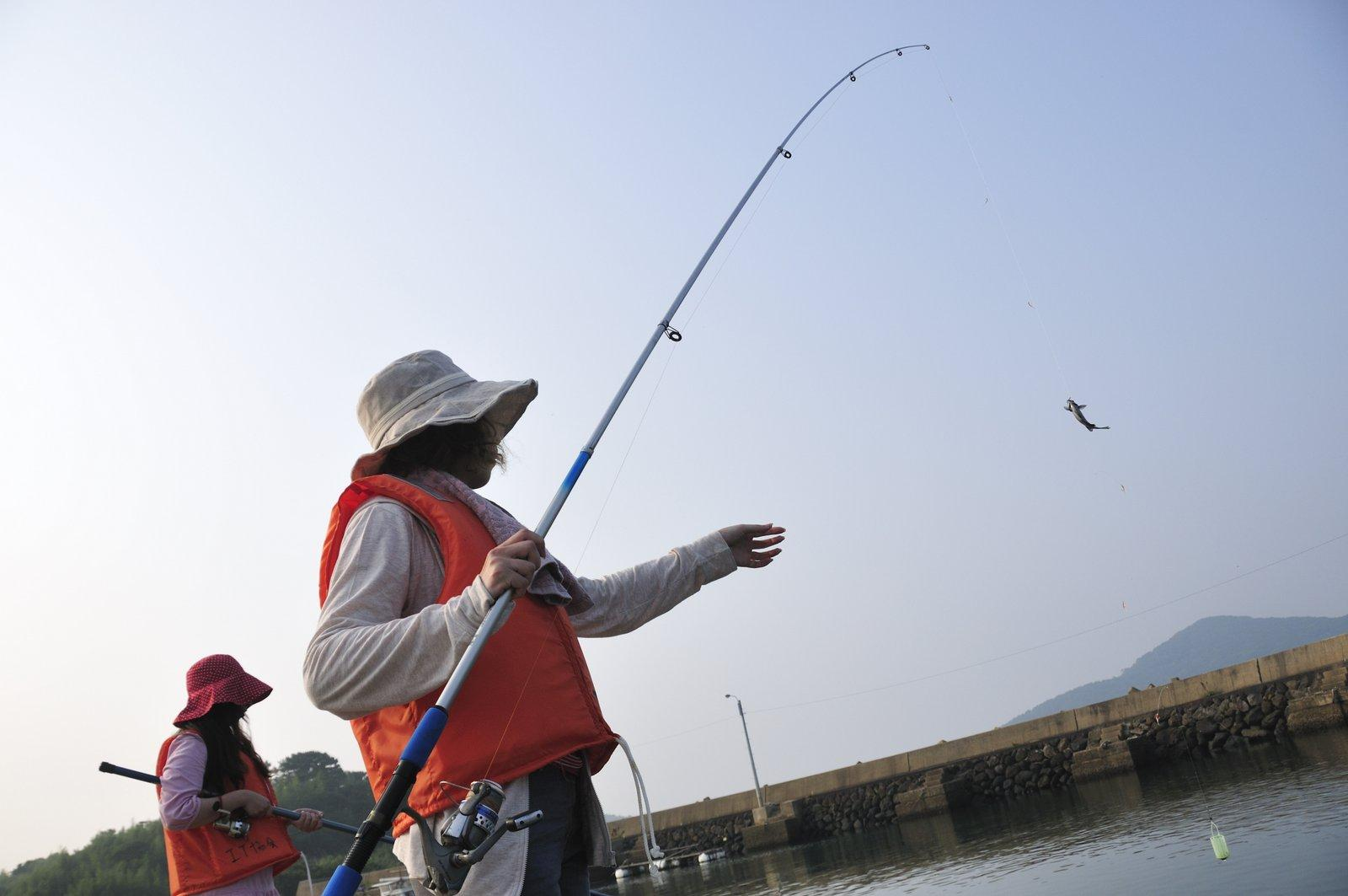 初めての魚釣り体験-1