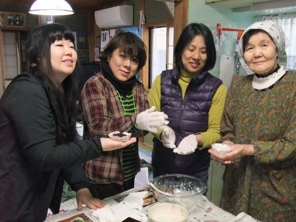 郷土料理づくり体験(いりやき・ろくべえ・豆酘雑煮)-2