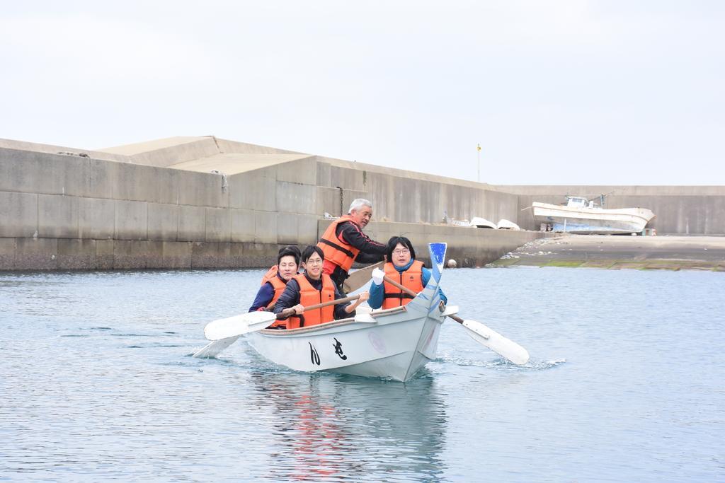 和船櫓漕ぎ体験-1
