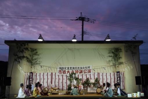 Iki Kagura (Shinto Theatrical Dance of Iki Island)-4