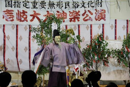 Iki Kagura (Shinto Theatrical Dance of Iki Island)-0