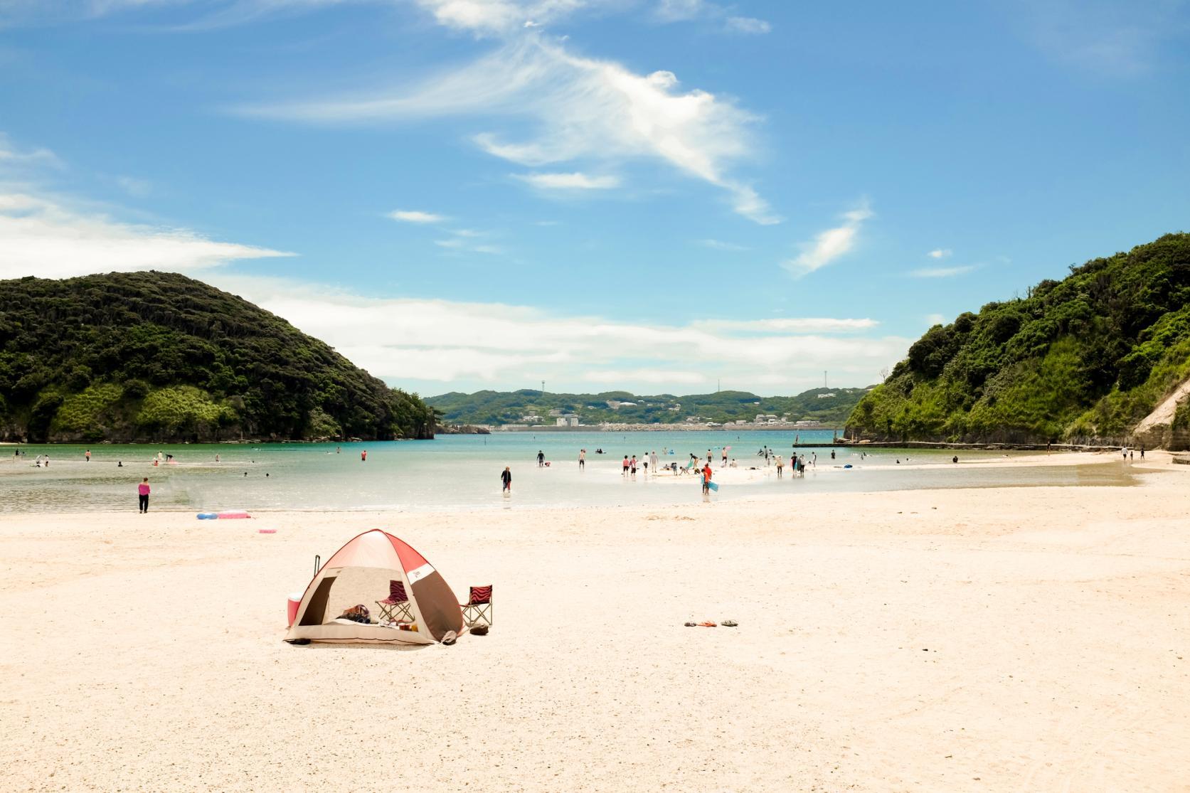 辰之島海水浴場-1