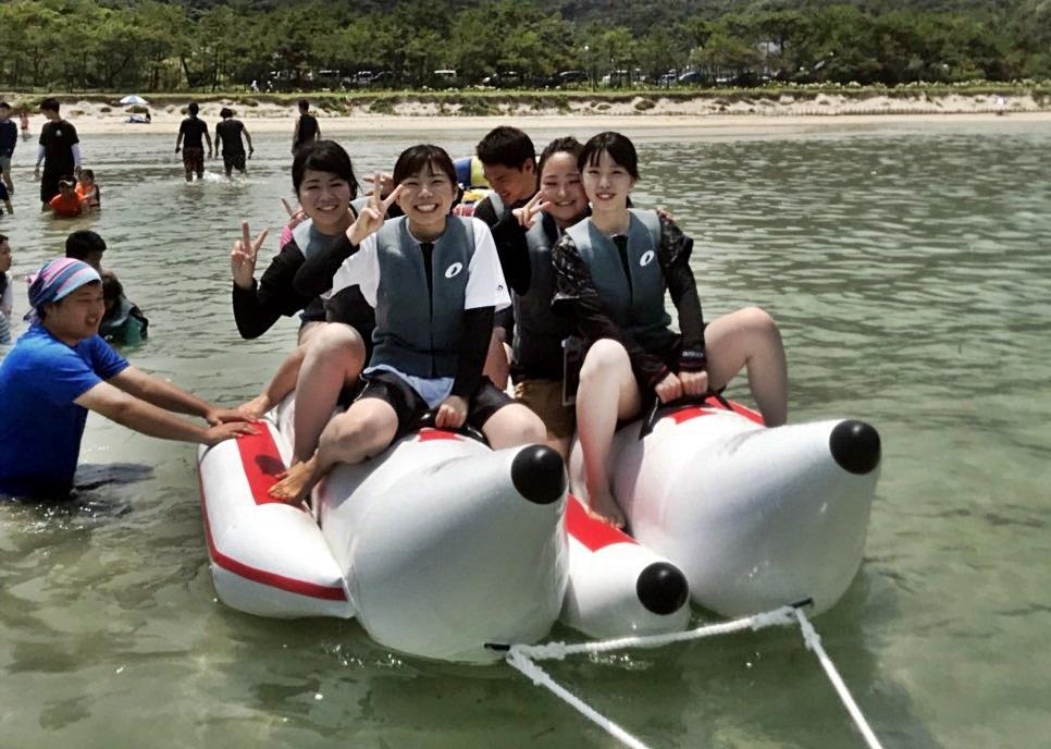 バナナボート(蛤浜海水浴場)-1