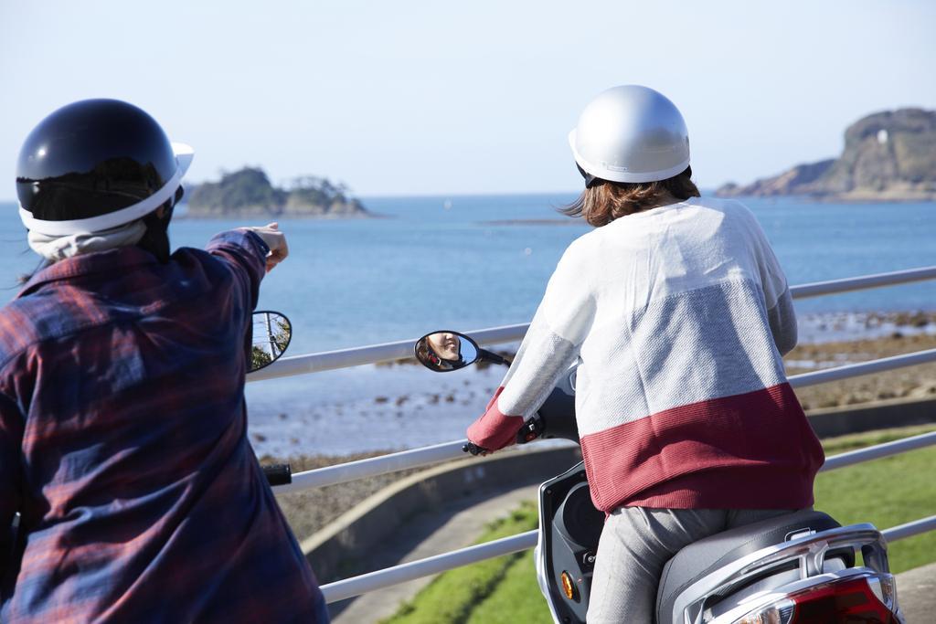 イキエコ(EVスクーター)体験-1