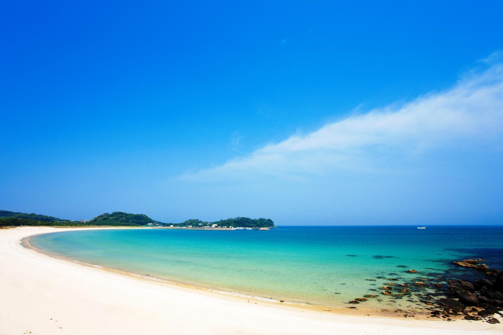 筒城浜海水浴場-2