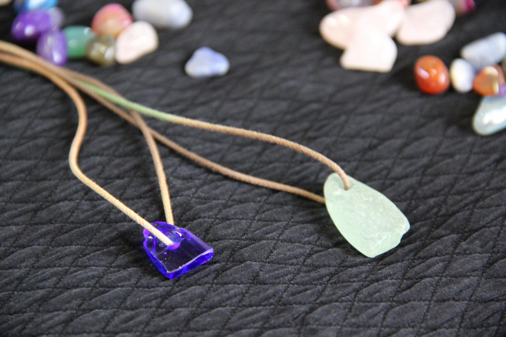 Sea Glass Pendant Making Experience-1