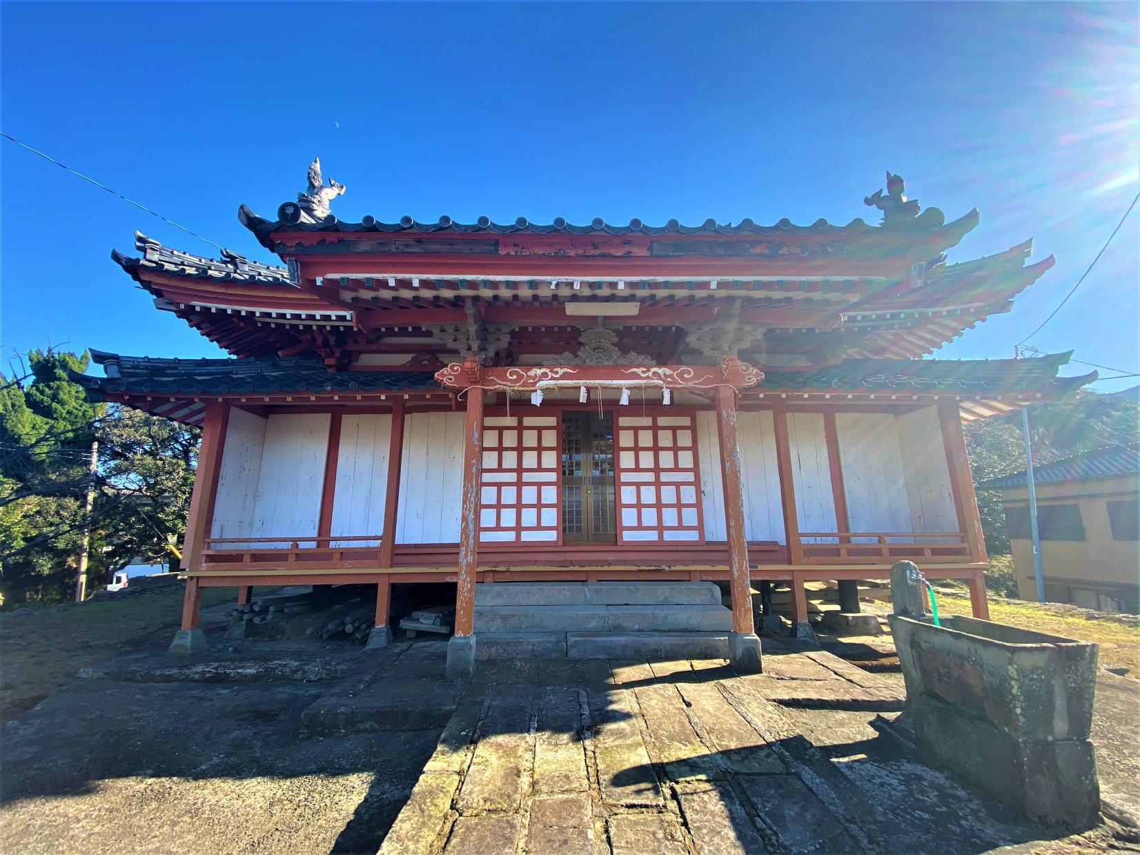 孕神社【赤尾】-1