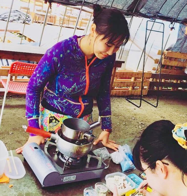 島キャンドル作り体験-2