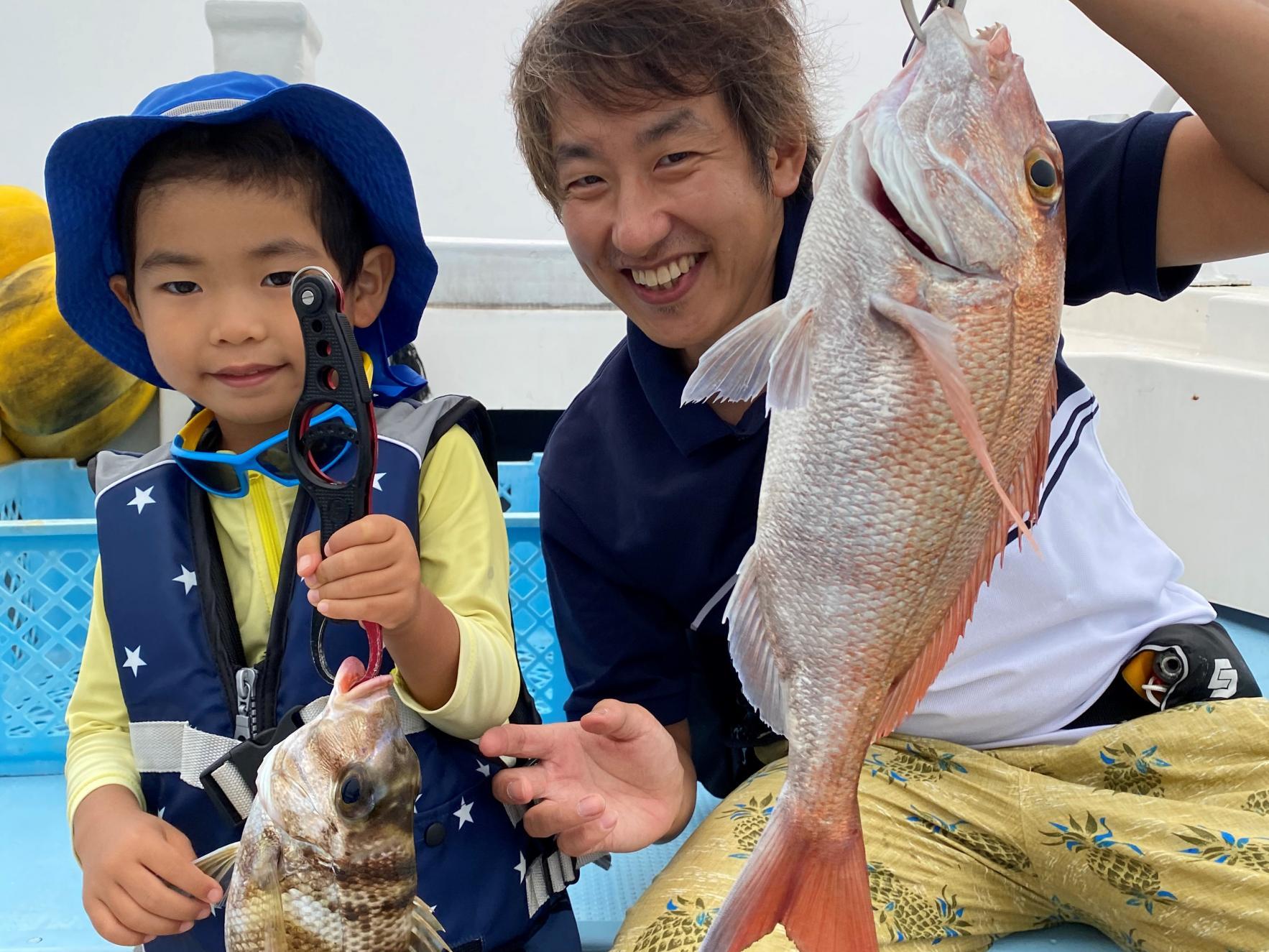 船釣り体験(わんぱっく壱岐)-1