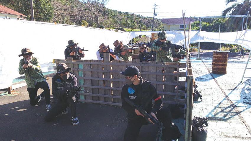 長崎五島列島の福江島でサバイバルゲーム体験・手ぶらでOK!-2