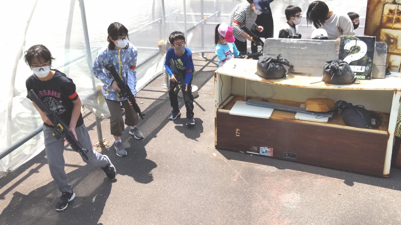 長崎五島列島の福江島でサバイバルゲーム体験・手ぶらでOK!-1