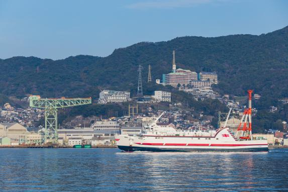 Gunkanjima (Hashima, Battleship Island) Landing & Cruising Tour-2