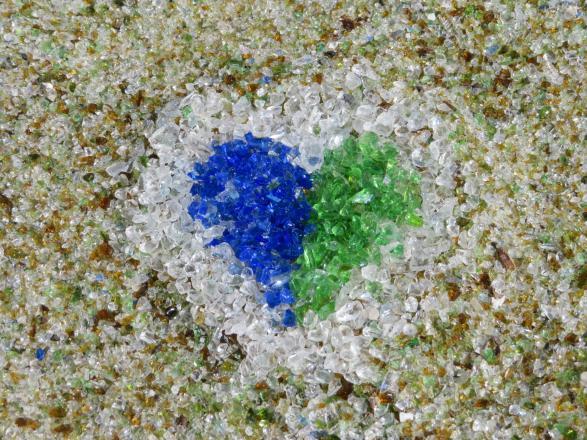ガラスの砂浜-2