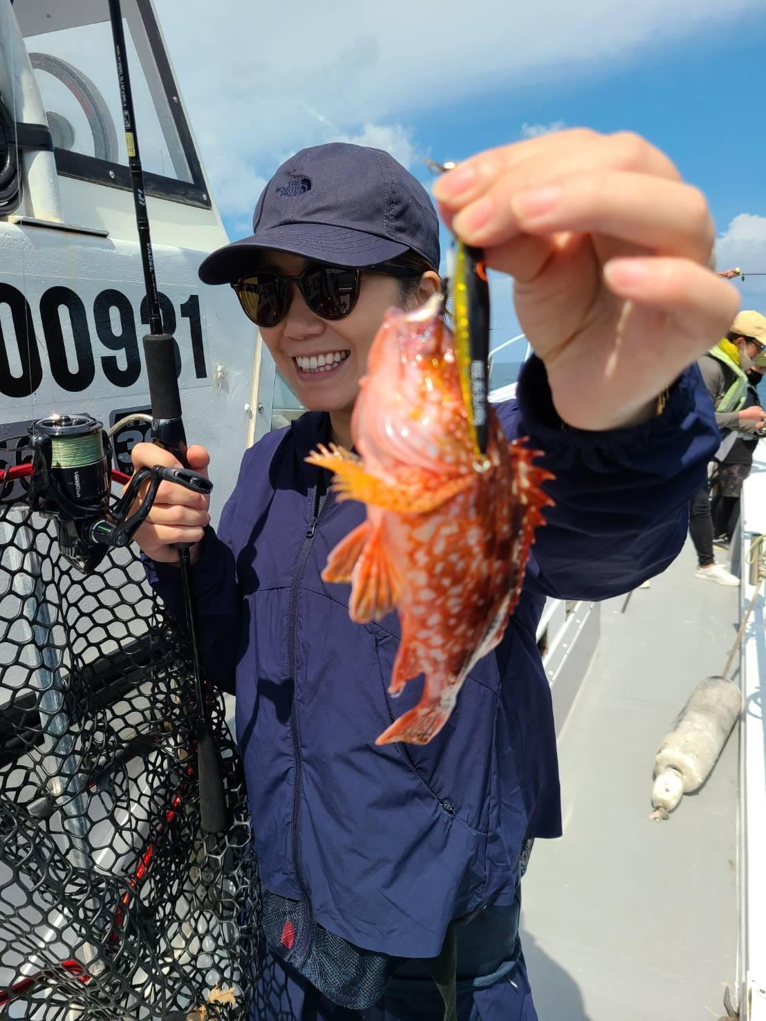 遊漁船 ルアーフィッシング体験-5