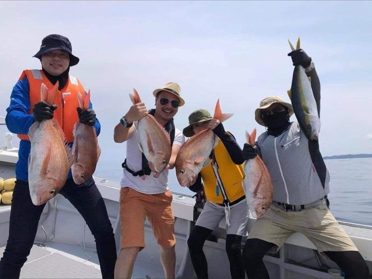 五郎丸と行く船釣り体験-4