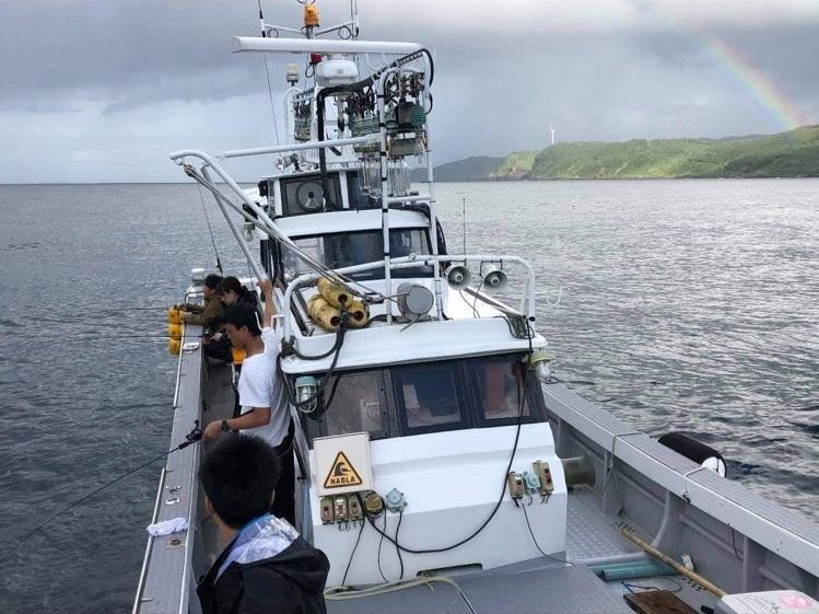 五郎丸と行く船釣り体験-3