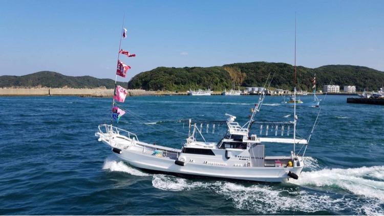五郎丸と行く船釣り体験-1