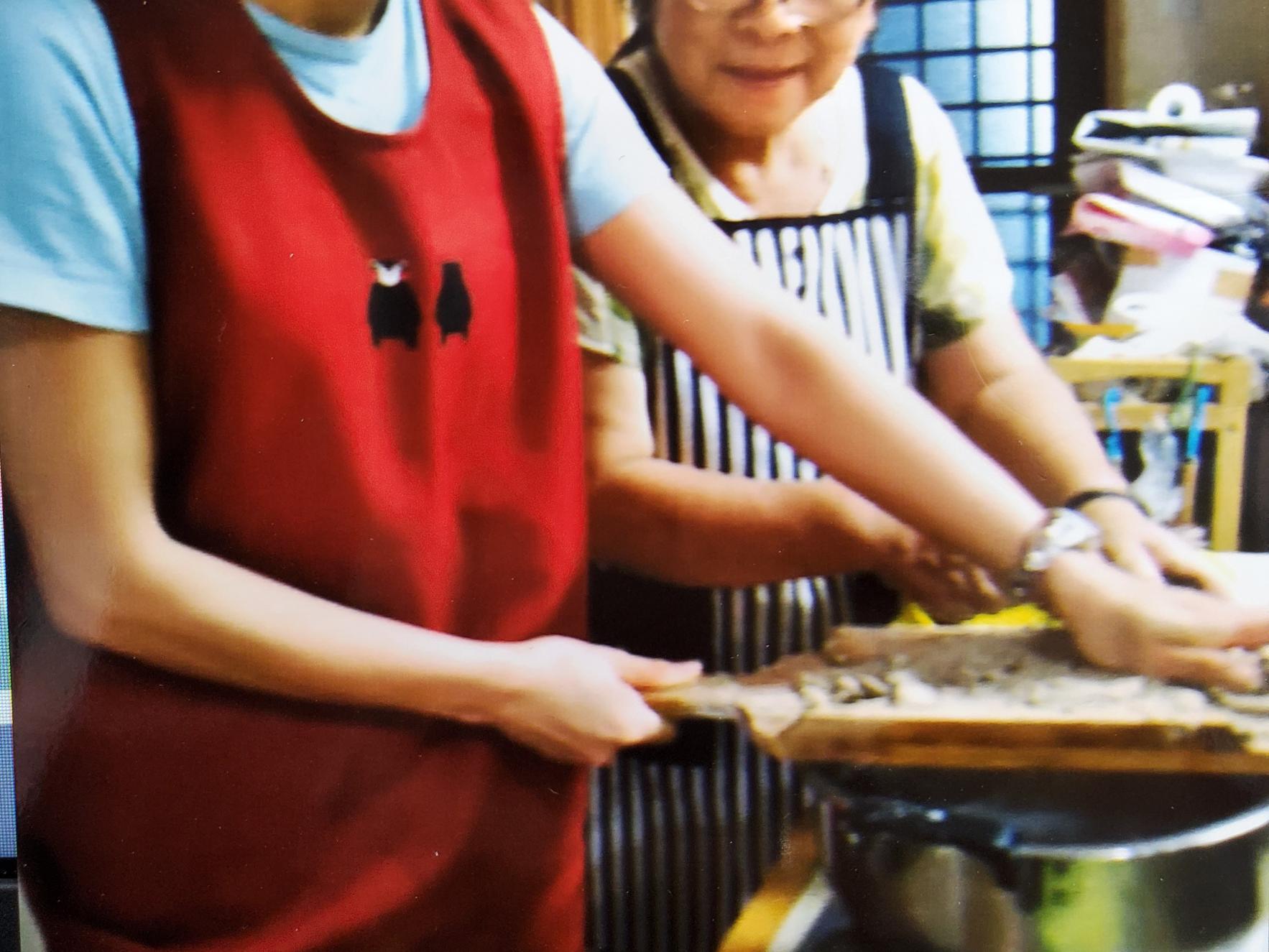 銀杏の宿(郷土料理つくり・そば打ち・釣り体験)-1