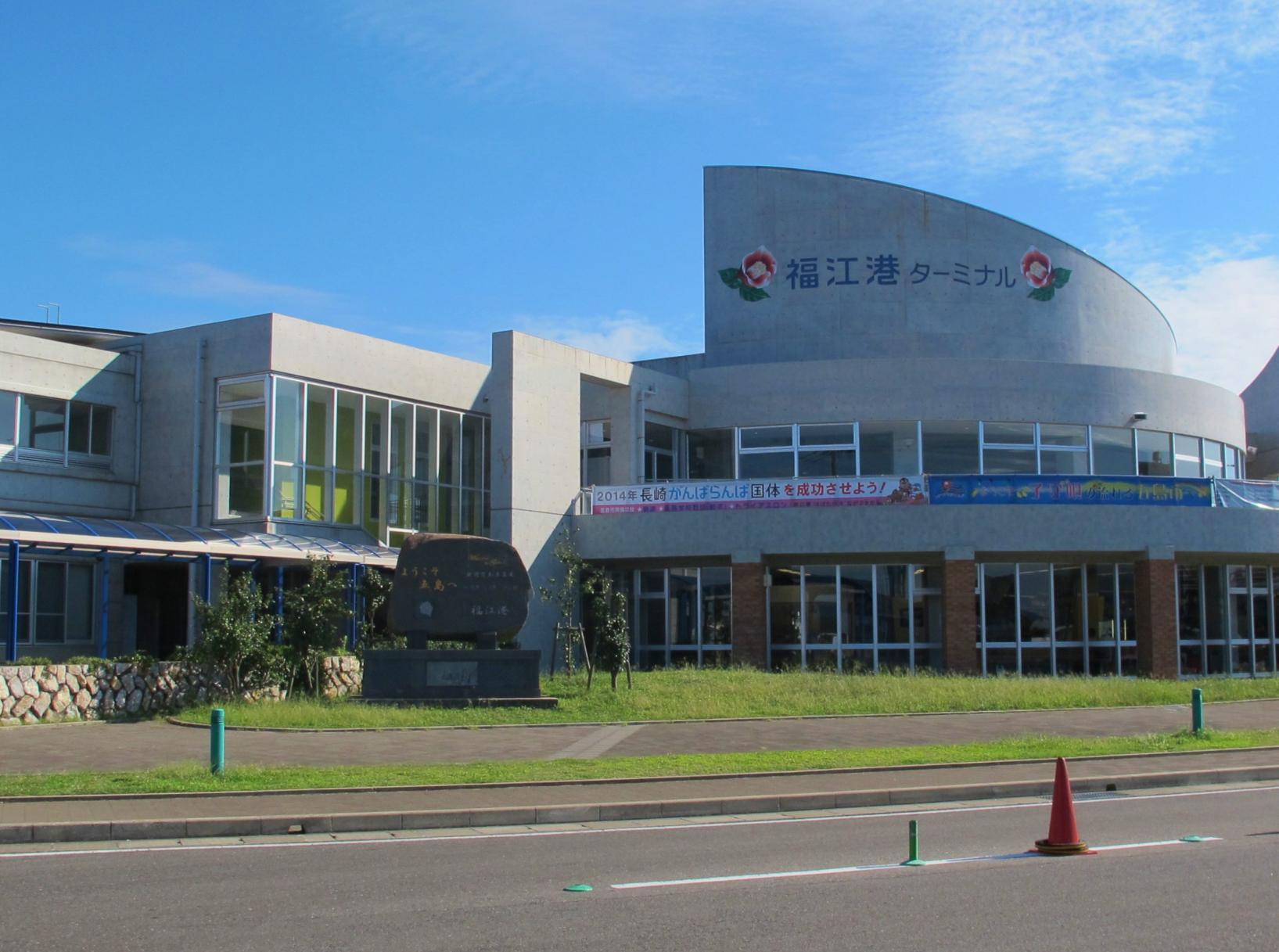 五島市(福江島) 港ターミナルのバリアフリー状況-1
