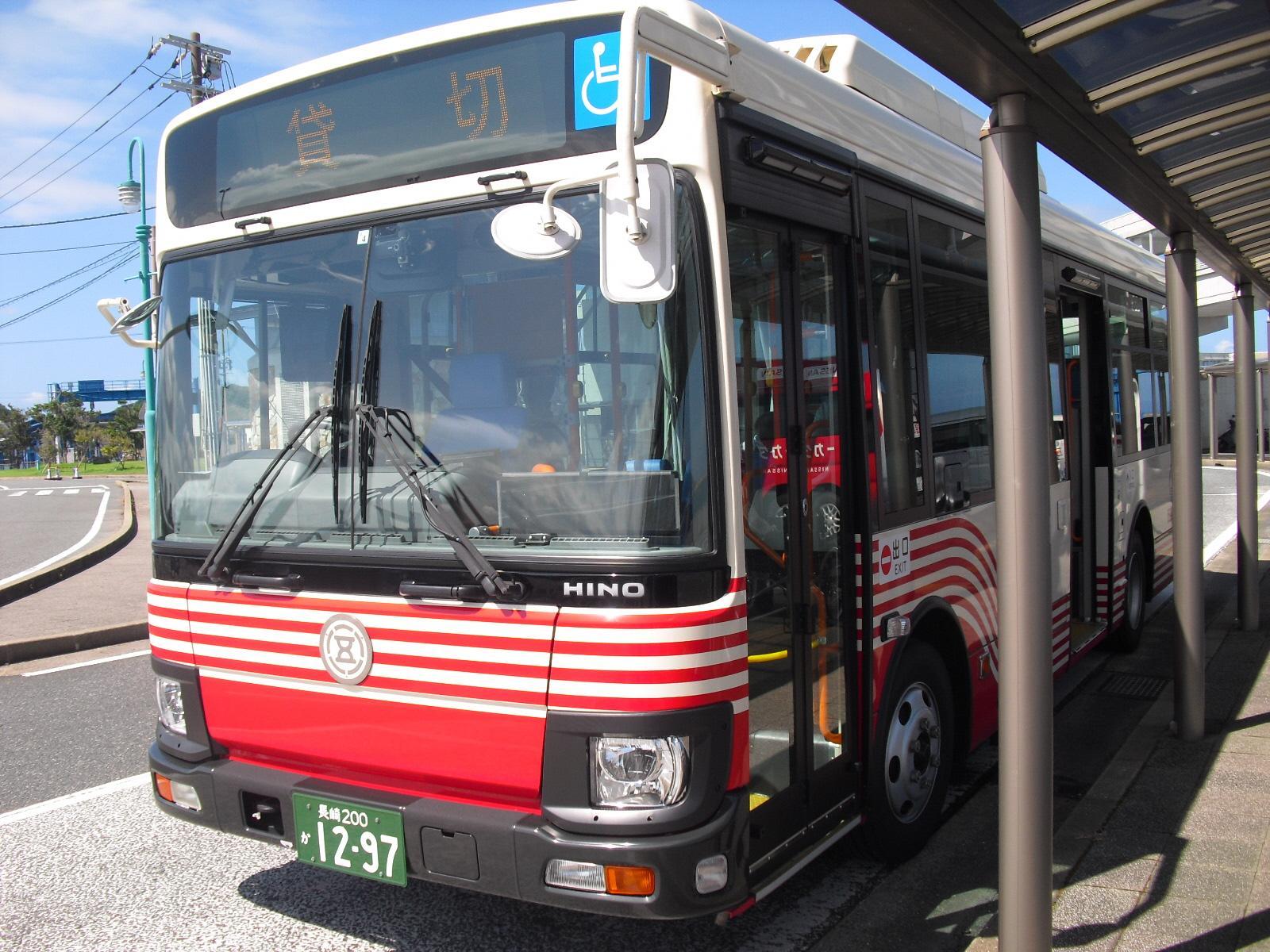 五島市(福江島) 島内交通機関のバリアフリー状況-1