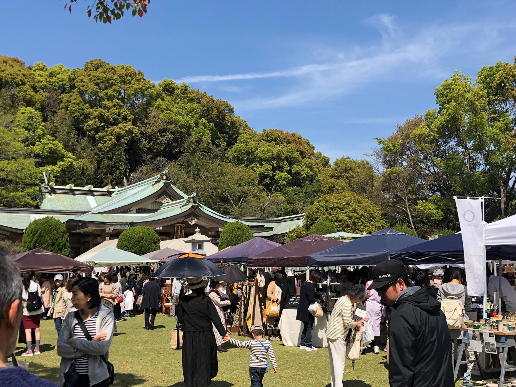 護国神社の庭フェス-1