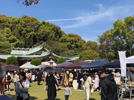護国神社の庭フェス-0