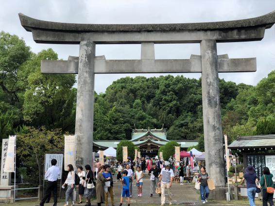 護国神社の庭フェス-2