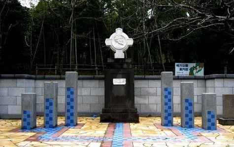 フランシスコ・ザビエル記念碑-1