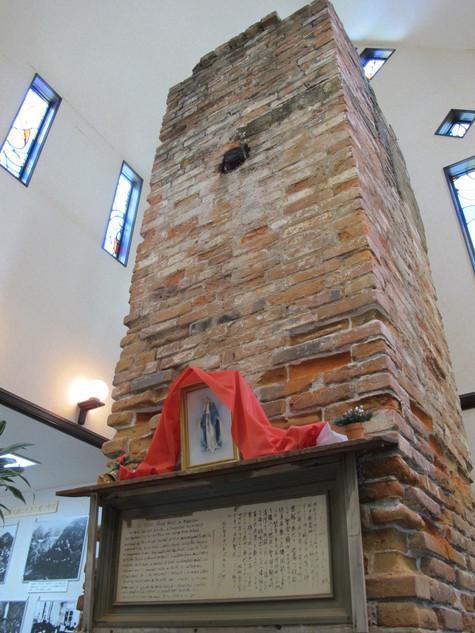 聖コルベゆかりの暖炉-1