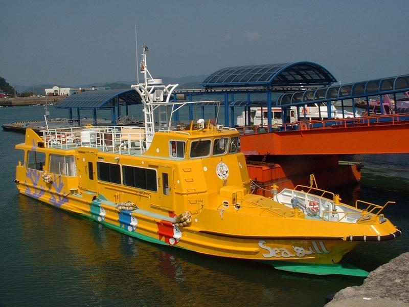 グラスボート シーガル/クルージング船 ソレイユ 木口汽船-1