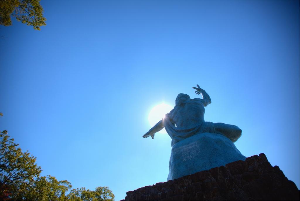 平和公園(平和祈念像、平和之泉)-1